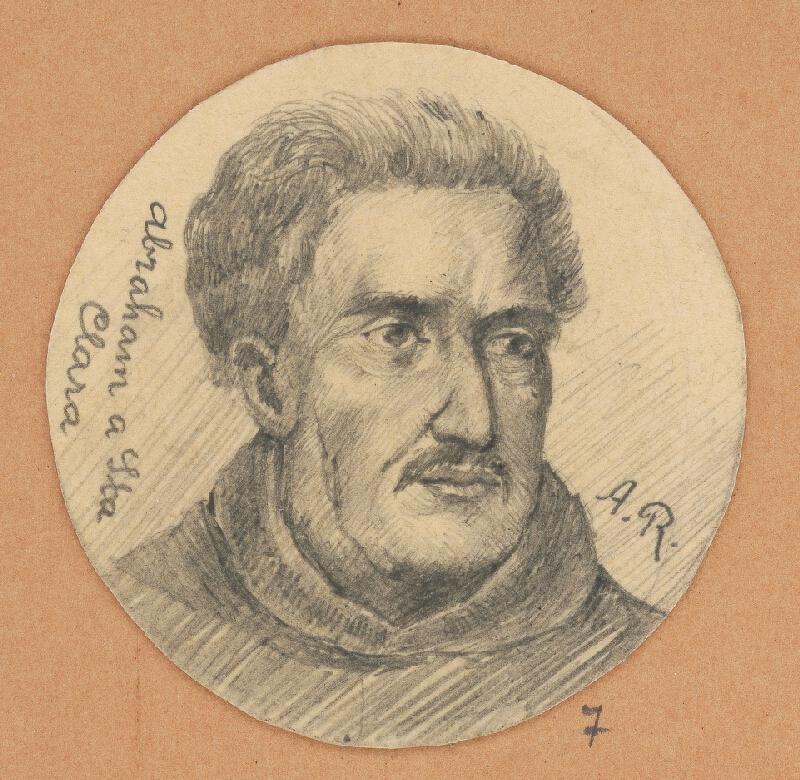 Alojz Rigele - Portrétna štúdia Abrahama a Sta. Claru