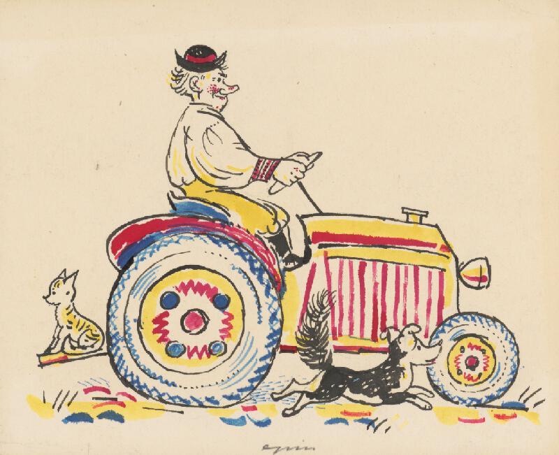 Štefan Cpin - Na traktore