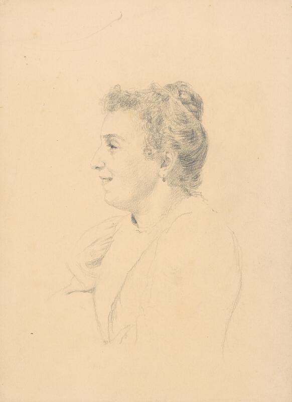 Ivan Žabota - Usmievajúca sa žena