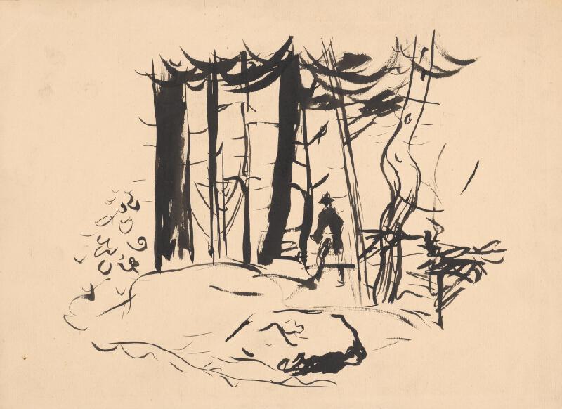 Arnold Peter Weisz-Kubínčan - V lese