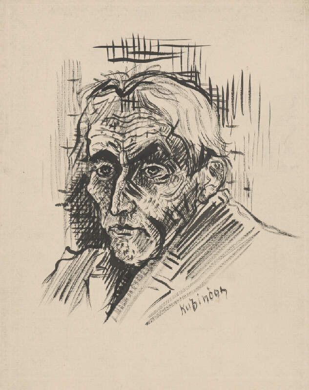 Arnold Peter Weisz-Kubínčan - Hlava muža