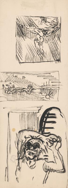 Arnold Peter Weisz-Kubínčan – Figurálne náčrty