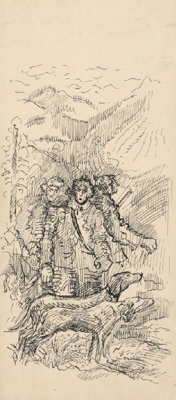 Arnold Peter Weisz-Kubínčan - Poľovníci so psami