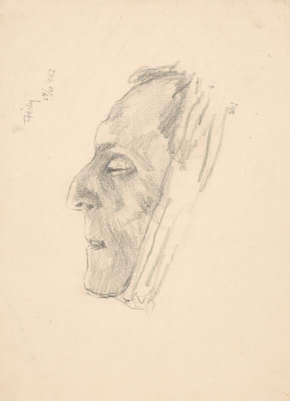 Arnold Peter Weisz-Kubínčan - Hlava mŕtveho