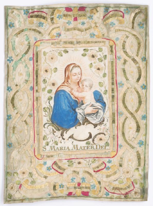 Stredoeurópsky autor z 18. storočia - Madona s dieťaťom