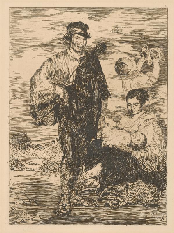 Edouard Manet - Cigáni