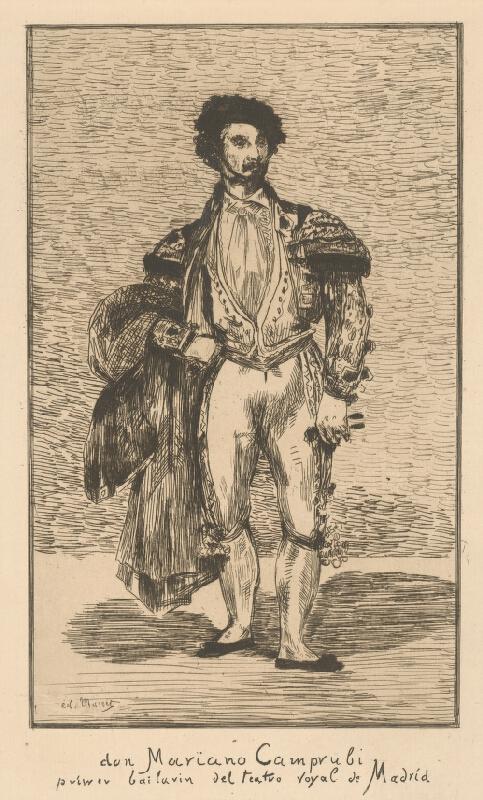 Edouard Manet - Mariano Camprubi