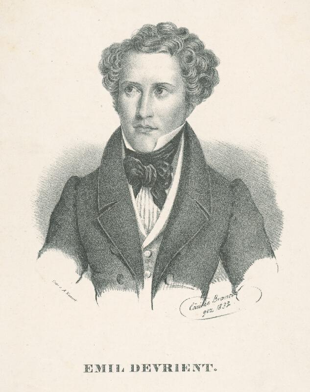 Cäcilie Brandt, August Kneisel - Emil Devrient