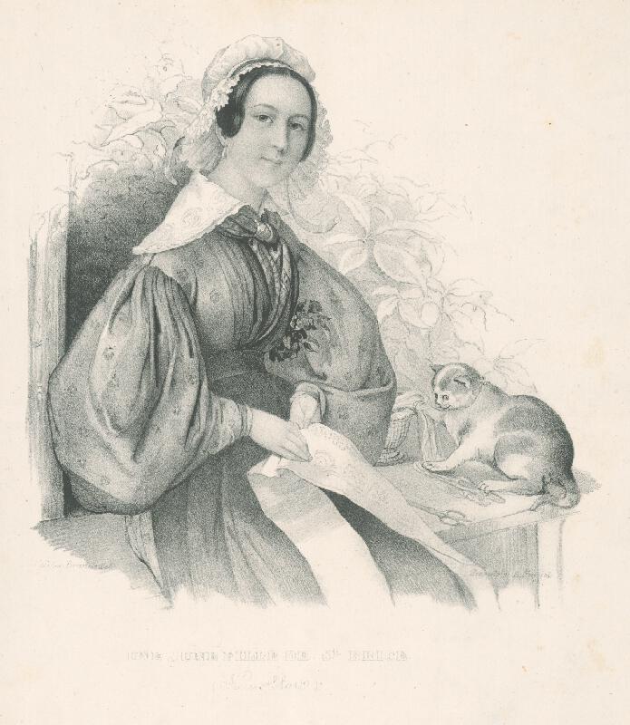 Cäcilie Brandt, August Kneisel - Dievča zo St. Brice