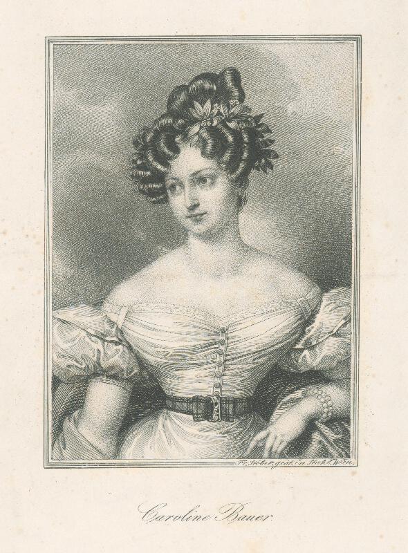 Franz Stöber - Caroline Bauer