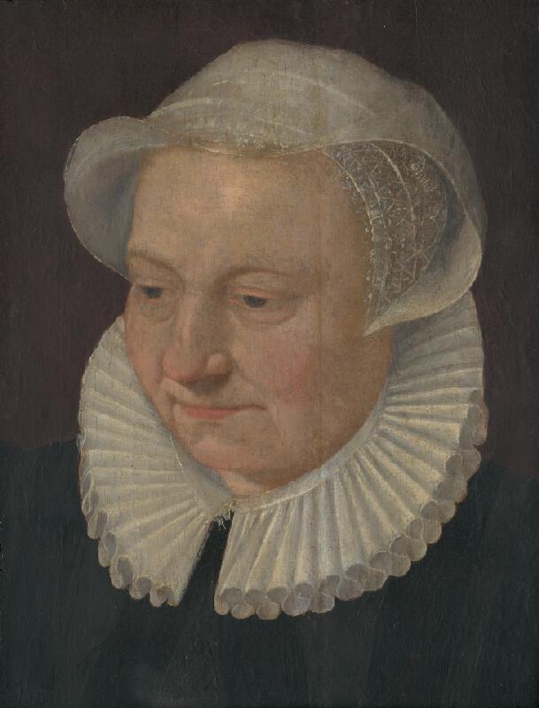 Flámsky maliar zo začiatku 17. storočia, Holandský maliar z 1. štvrtiny 17. storočia - Hlava stareny v čepci