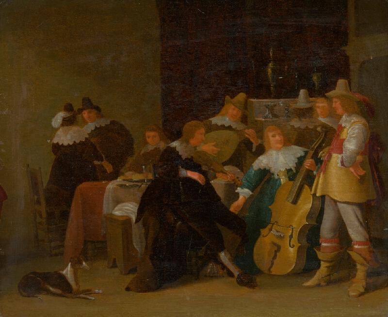 Anthonie Palamedesz., Holandský maliar z 2. polovice 17. storočia - Domáci koncert