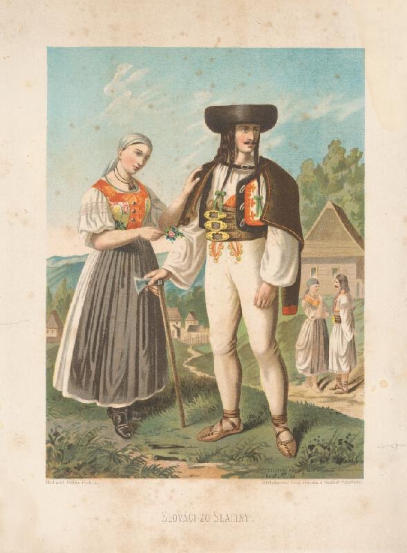 Kornel Bohúň, Peter Michal Bohúň - Slováci zo Slatiny
