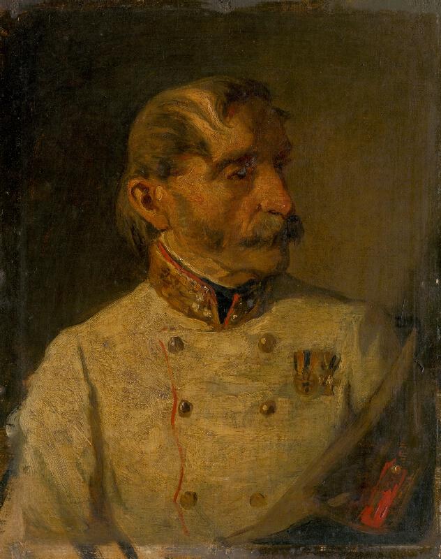 Hans Canon - Podobizeň vojenského hodnostára