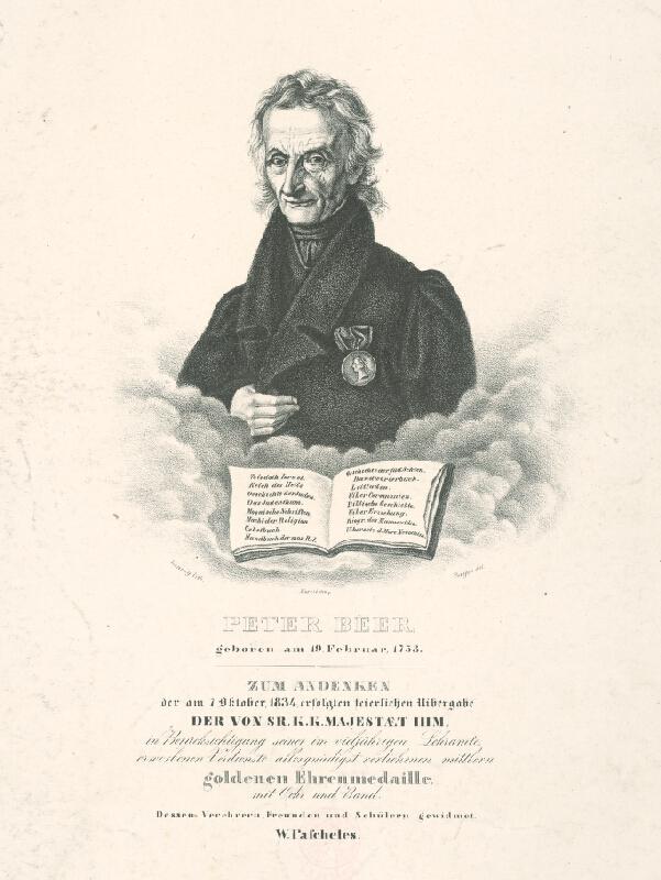 Carl Hennig - Podobizeň Petra Beera