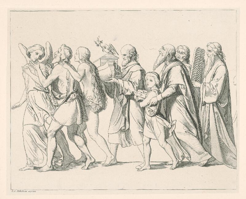Konrád Wiesner, Johan Anton Hellich - Postavy Starého zákona