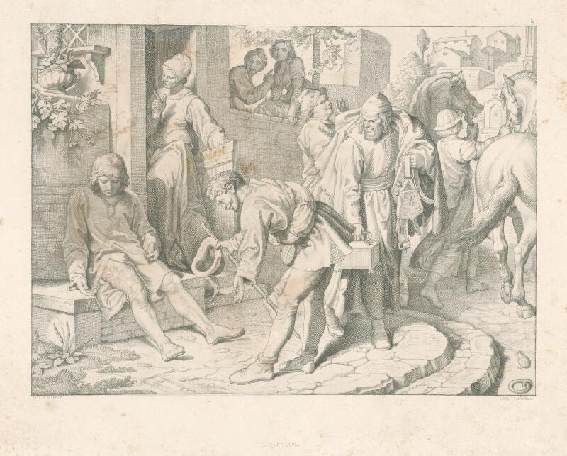 Alois Petrák, Joseph von Führich - Koniec bezstarostného života