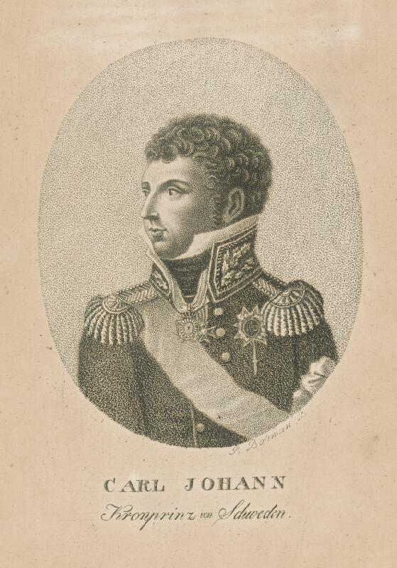 Petr Bohmann - Karol Johann Švédsky