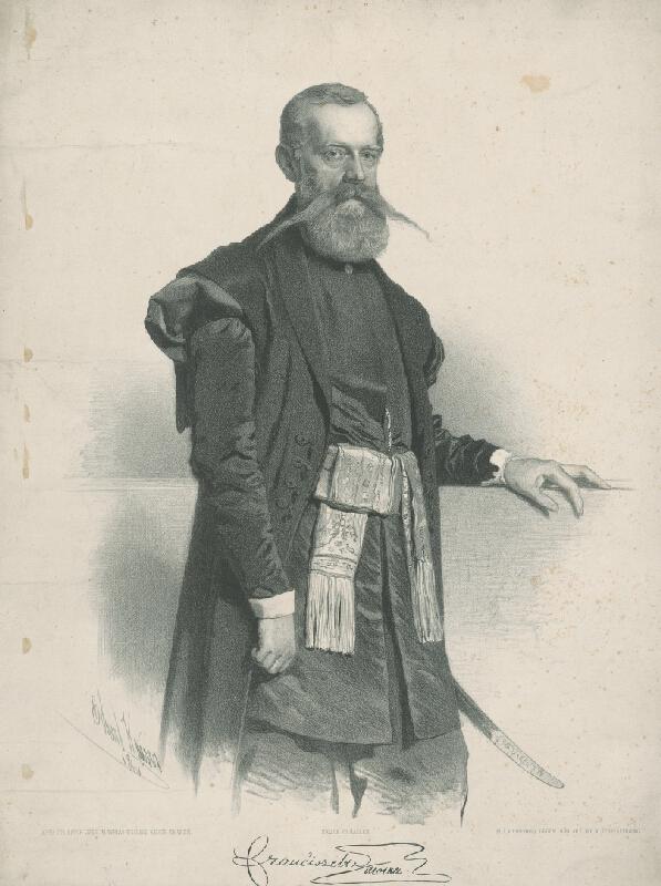 Eduard Kaiser - Podobizeň Františka Molkera