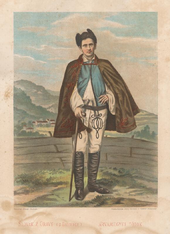 Kornel Bohúň, Peter Michal  Bohúň - Slovák z Oravy -z Bysterca