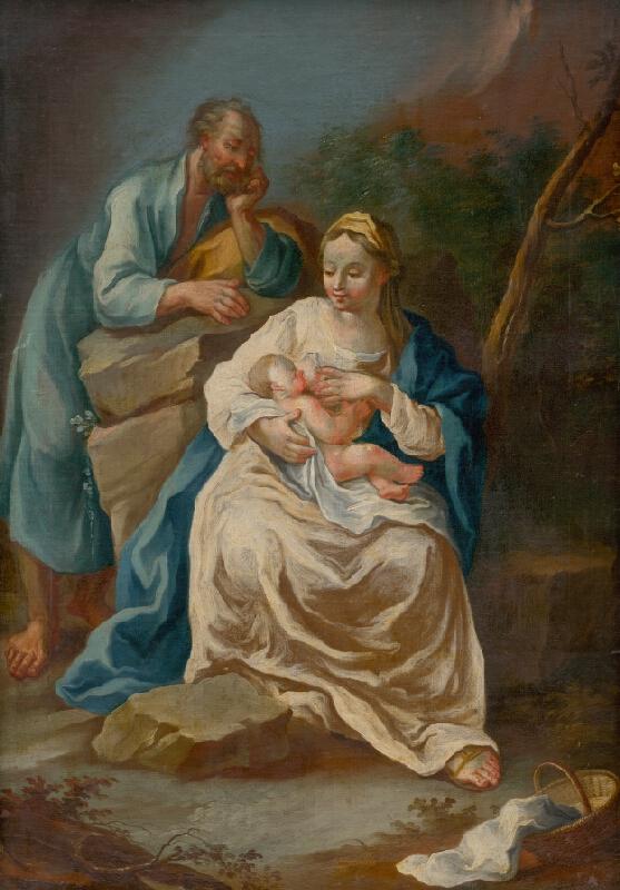 Slovenský maliar z konca 18. storočia, Neznámy maliar - Svätá rodina