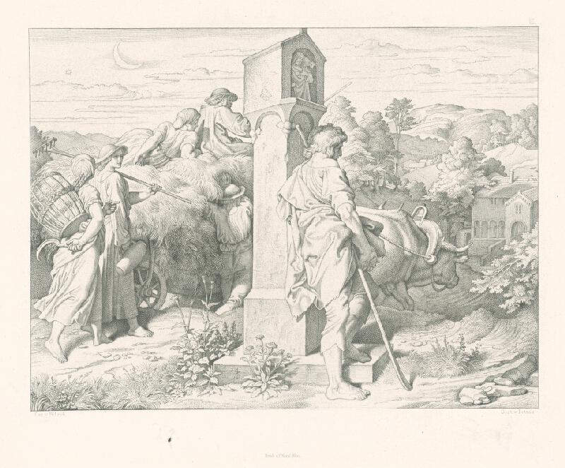 Alois Petrák, Joseph von  Führich - Na ceste