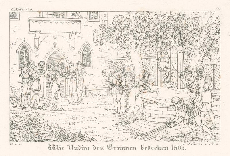 Ludwig Ferdinand Schnorr von Carolsfeld - Udina dáva prikryť studňu