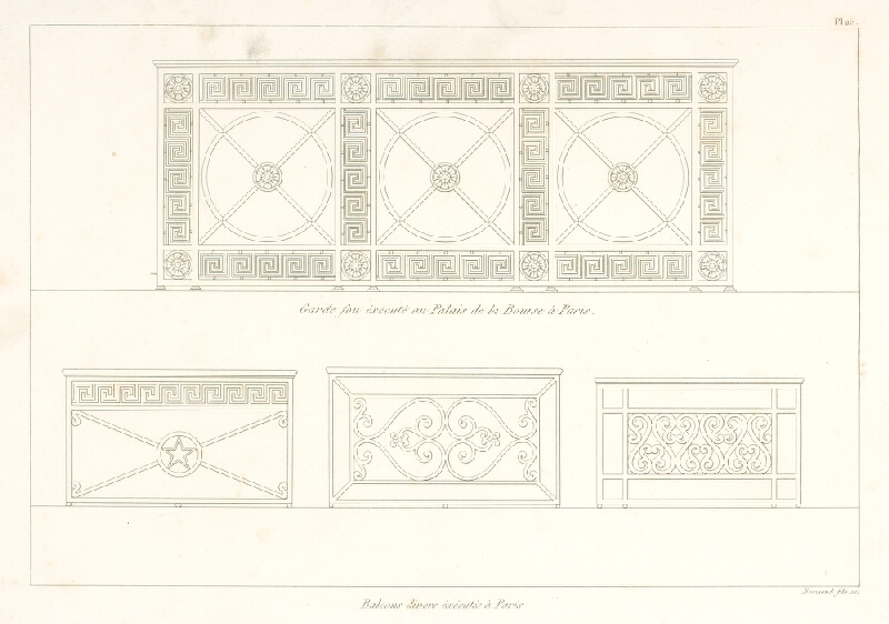 A. Normand - Návrh na balkón