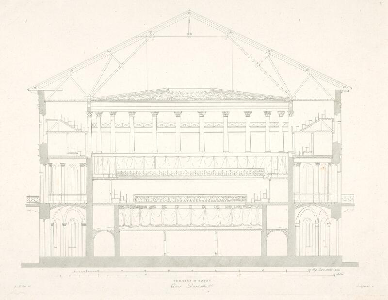 C. Sulemith, Georg Moller - Divadlo v Mainzi – rez