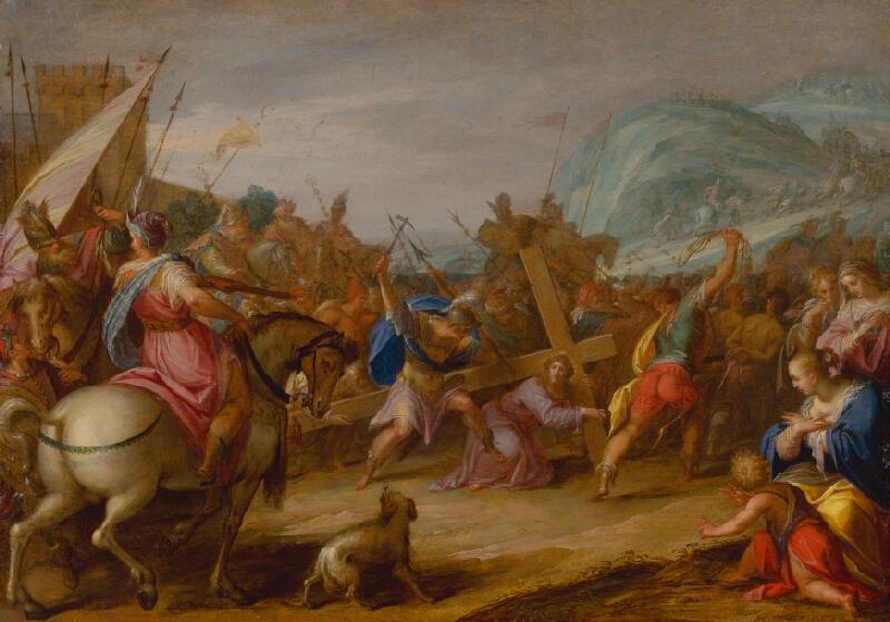 Hans von Aachen - Nesenie kríža
