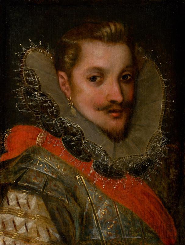 Frans Pourbus st. - Podobizeň Alexandra Farnése