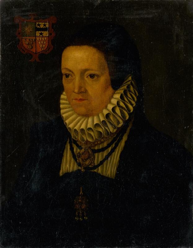 Nemecký maliar zo začiatku 17. storočia - Portrét šľachtičnej