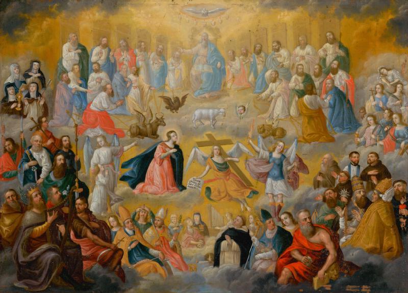 Stredoeurópsky maliar z 19. storočia - Všetci svätí