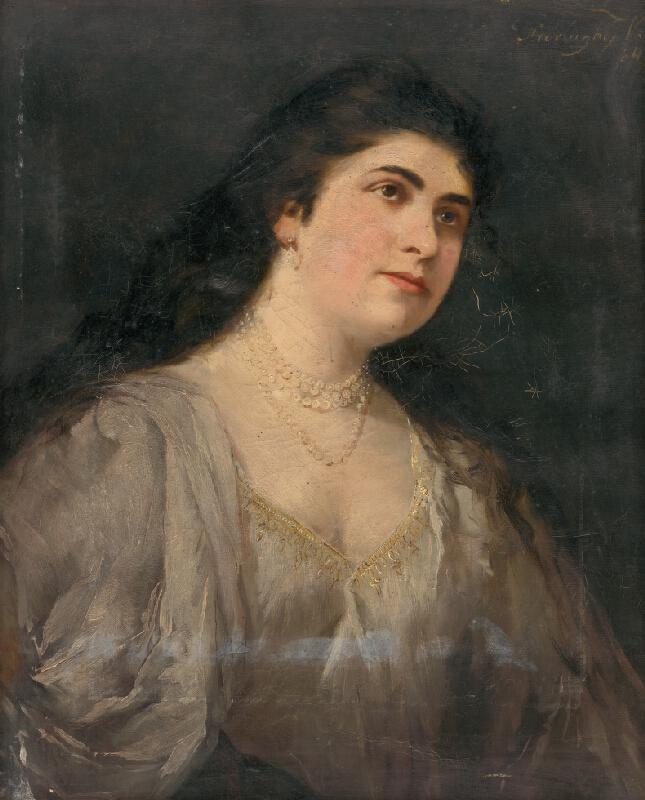 Vilma Parlaghy - Podobizeň ženy