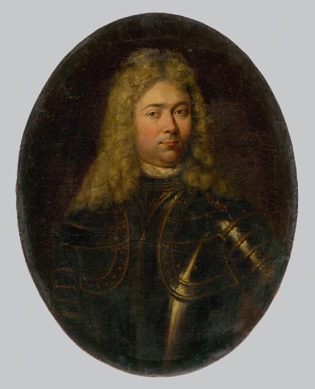 Francúzsky maliar z 18. storočia, Západoeurópsky maliar z 1. polovice 18. storočia - Podobizeň šlachtica v parochni