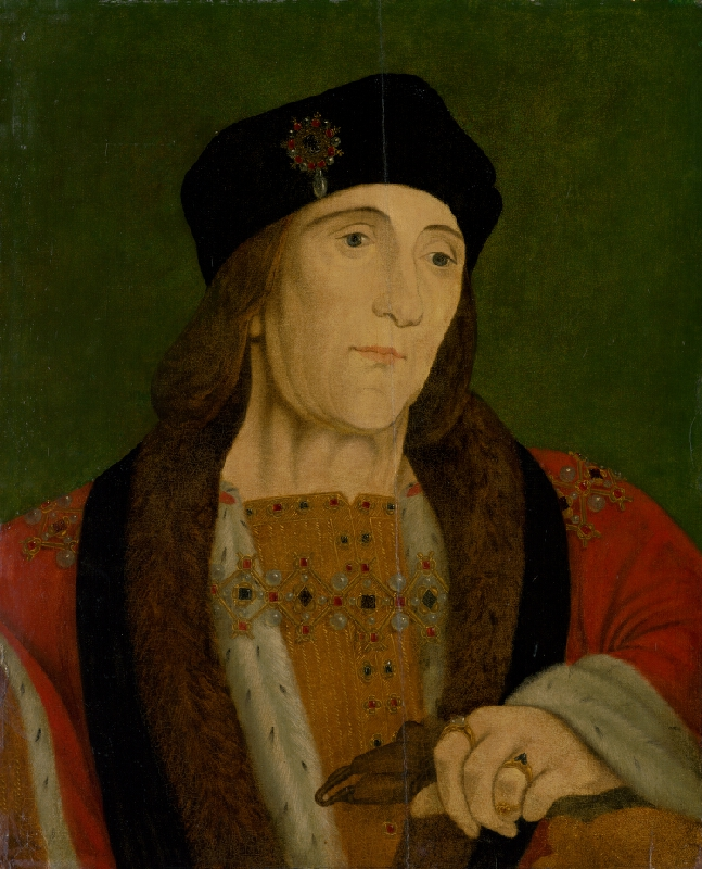 Autor kópie neznámy, Hans Holbein ml. - Podobizeň Henricha VII.