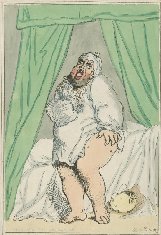 Thomas Rowlandson - Karikatúra