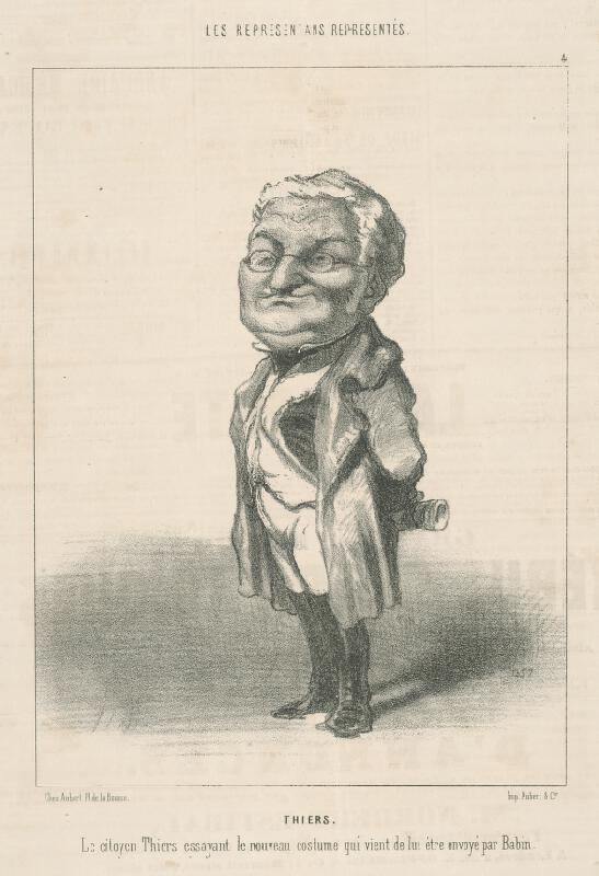 Honoré Daumier - Thiers