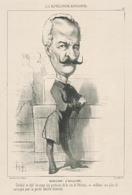 Honoré Daumier - Baraqvay D Hilliers