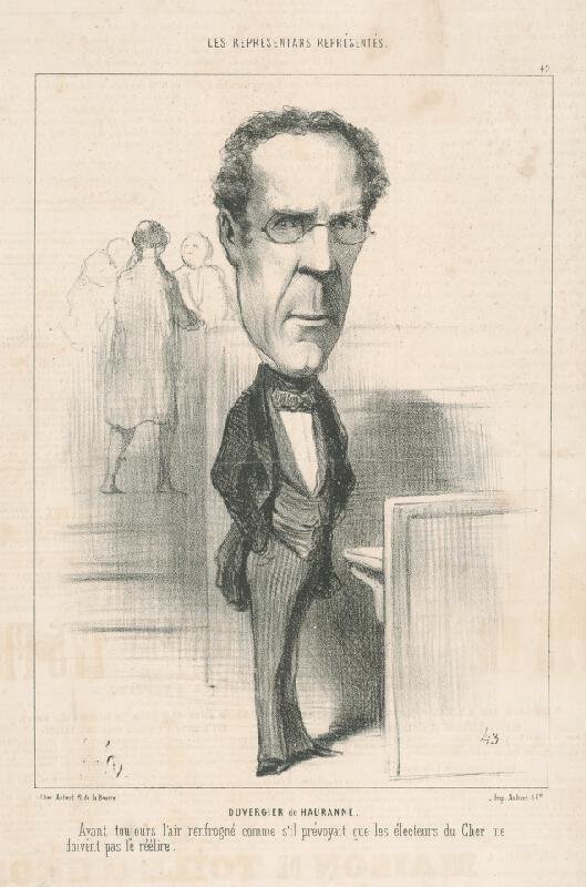 Honoré Daumier - Duvergier De Hauranne