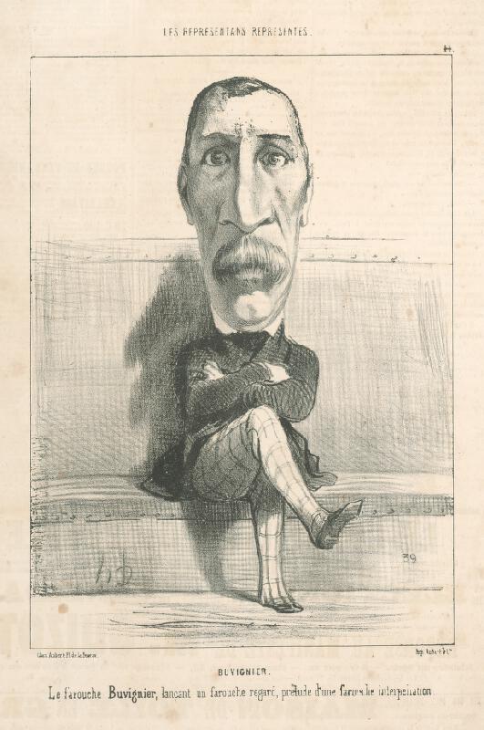 Honoré Daumier - Buvignier