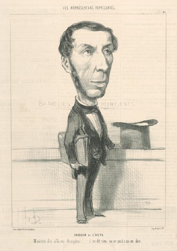 Honoré Daumier - Drouin De L Huys