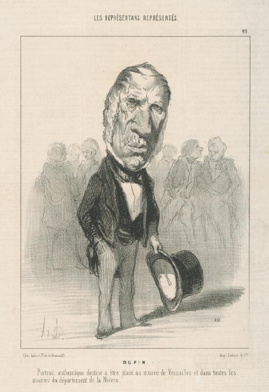 Honoré Daumier - Dupin