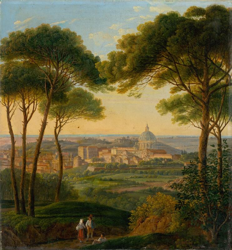 Karol Marko ml. - Pohľad na talianske mesto