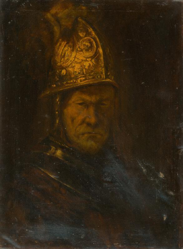 Rembrandt van Rijn - Muž so zlatou helmou