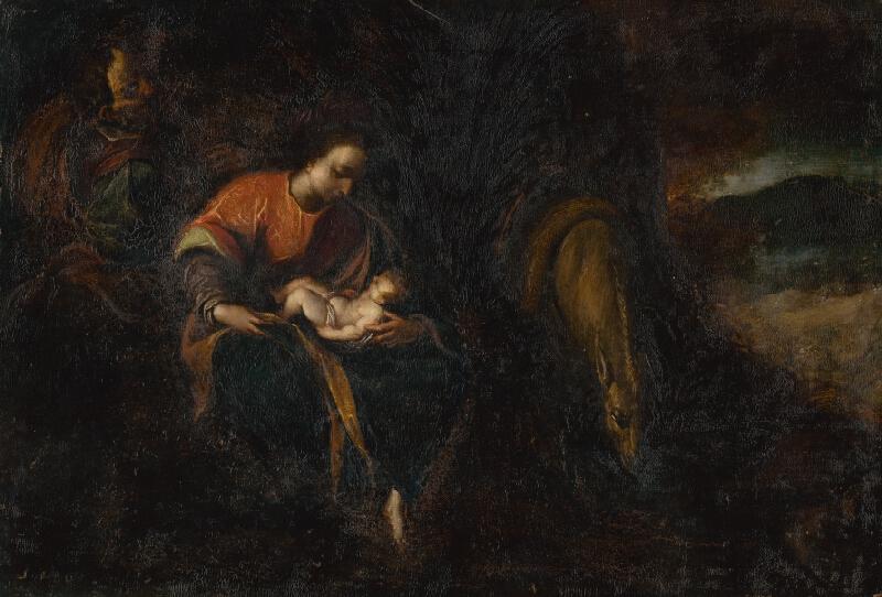 Lodovico Carracci - Svätá rodina