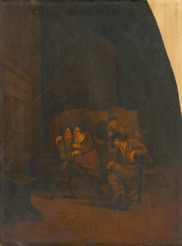 Cornelis Bega, Richard Brakenburg - Popíjanie v pivnici