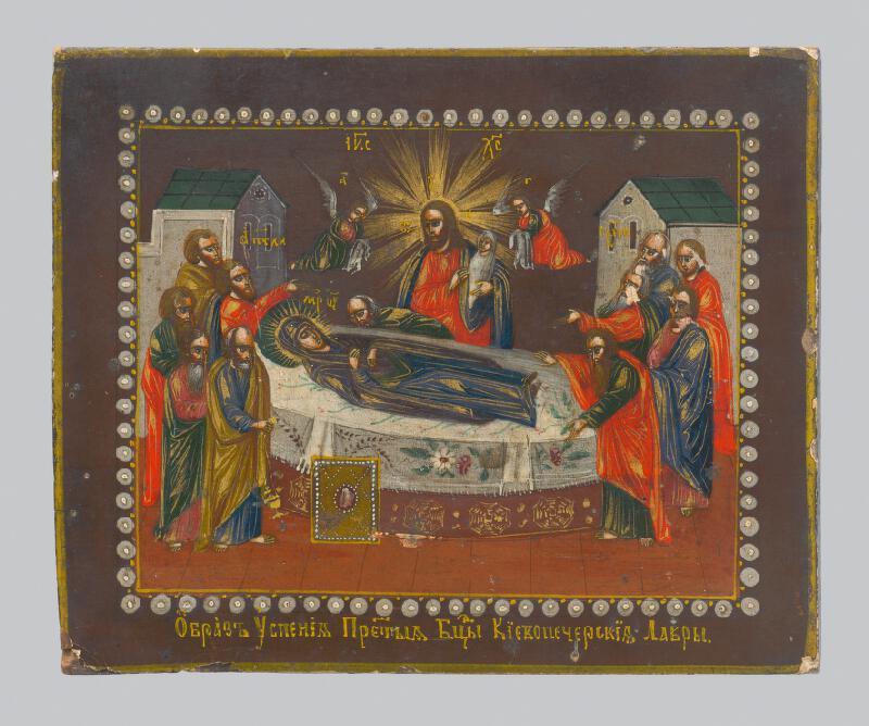 Ukrajinský ikonový maliar - Smrť Panny Márie