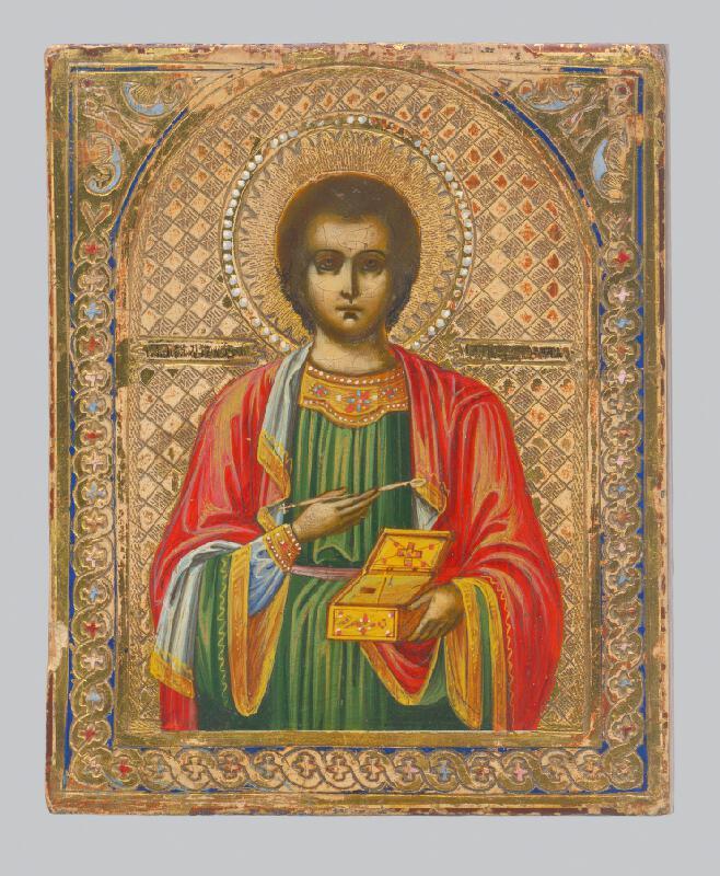 Ruský ikonový maliar - Svätec