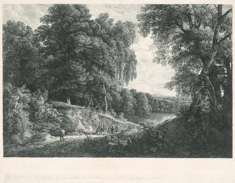 Fridrich Loos, Jacques d' Arthois - Lesná cesta